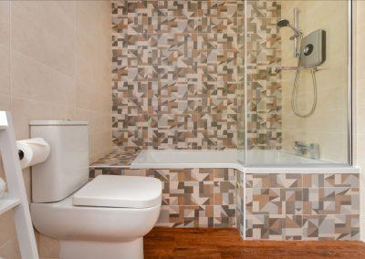 Room Four bathroom Hafod Abersoch