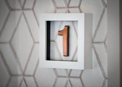 Room Number plate Hafod Abersoch