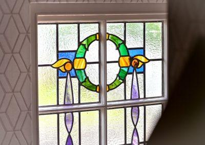 Stained glass window Hafod Abersoch