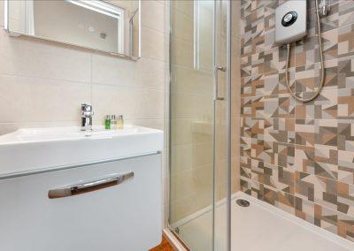Room Six shower Hafod Abersoch